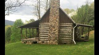 30 Acres, Log Cabin, 2 BR, 1 BA, Joins NF, Bland, VA