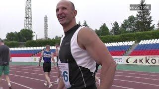видео ХХVI чемпионат России по легкой атлетике среди ветеранов