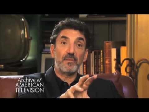 "Chuck Lorre on developing""Grace Under Fire"" - EMMYTVLEGENDS.ORG"