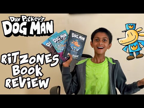Dog man Book 2020 | My Review of Dog Man Book by Dav Pilkey | Ritzones