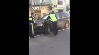 恐ロシアで検問を突破する某国大使館員の車対警官 在間亮平 検索動画 23
