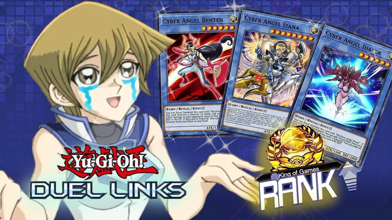 CYBER ANGEL 8-0! FINALLY making this deck better in the Meta! [Yu-Gi-Oh! Duel Links]