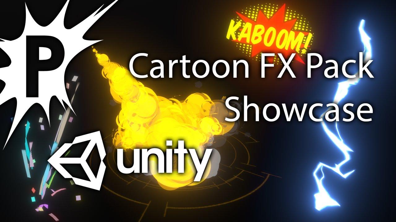 popcornfx unity cartoon pack showcase youtube