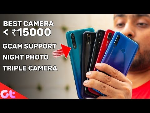 Top 6 BEST CAMERA PHONES Under 15000 | July 2019 | GT Hindi