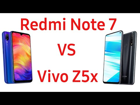 Xiaomi Redmi Note 7 Vs Vivo Z5x. Что лучше? Сравнение!