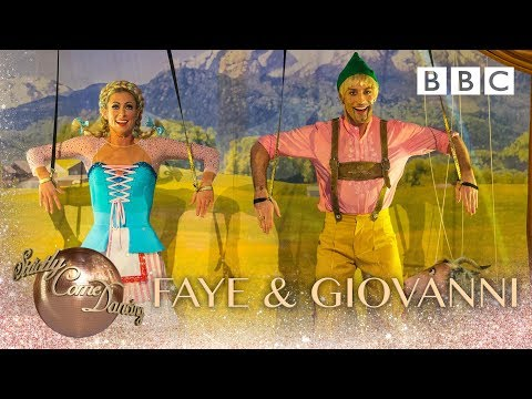 Faye & Giovanni Charleston to 'The Lonely Goatherd' from The Sound of Music - BBC Strictly 2018