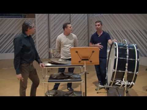 Zildjian Education - A Visit With The New World Symphony Percussion Section