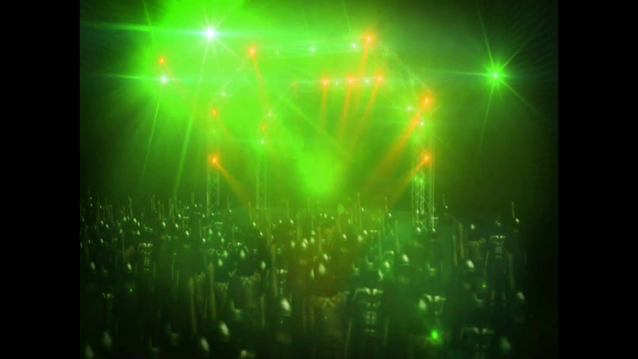Stage lighting in after effects cs4 youtube - After Effects Concert 3d Test