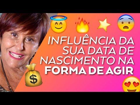 Influência da sua data de Nascimento na forma de Agir por Márcia Fernandes