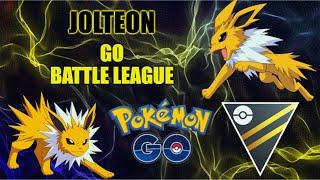 Jolteon Discharges GO Battle League | Road to Rank 10 [Pokémon GO PvP]
