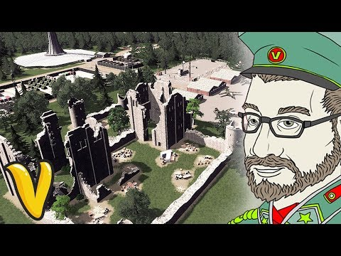 SECRET MILITARY AIRBASE! Cities Skylines Building Vladistan #8