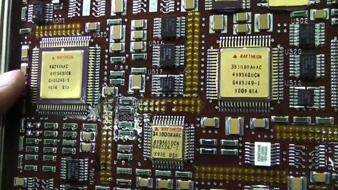 Wierd military computer boards - YouTube