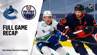 Vancouver Canucks vs Edmonton Oilers | Jan.14, 2021 | Game Highlights | NHL 2021 | Обзор матча