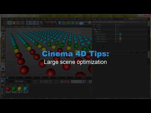 Cinema 4D tips: Project Optimization