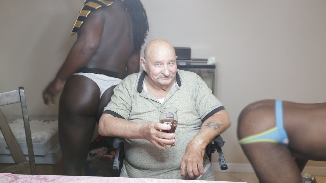 Surprising Grandpa With Strippers Prank - Youtube-7662