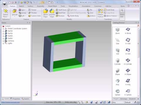 IronCAD 3D: Dynamic Assembly Modeling #1