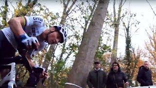 2018 Cyclocross Super Prestige Gavere voor Mathieu van der Poel