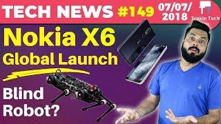 Nokia X6 & X5, Top 5 Popular Phones, Twitter Suspension, Amazon Rekognition, Cheetha 3 Robot-TTN#149