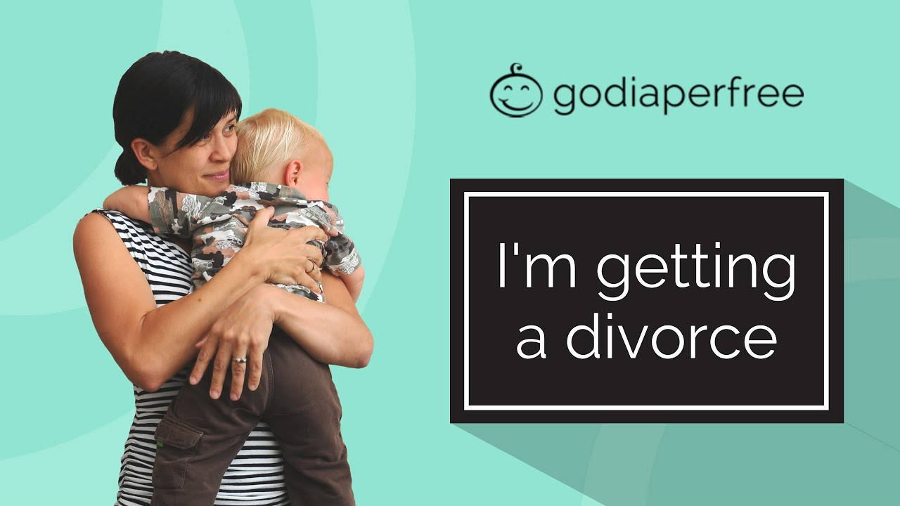 I'm getting a divorce (and how divorce can affect potty training and EC)