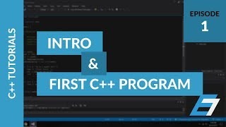 C++ Programming Tutorials - 1 - Intro to C++ and Hello World Program - Eric Liang