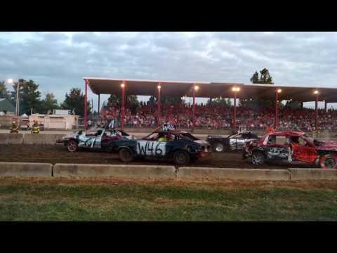 Coles County demolition derby