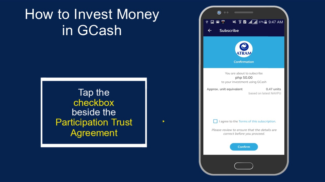 How to Invest Money in GCash Sept 2018