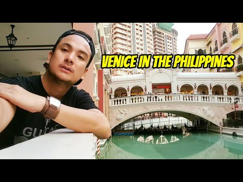 Your Pinoy tour guide at Venice Grand Canal Mall - Taguig City, Manila