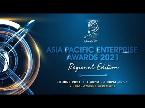 Asia Pacific Enterprise Awards (APEA) 2021 Regional Edition