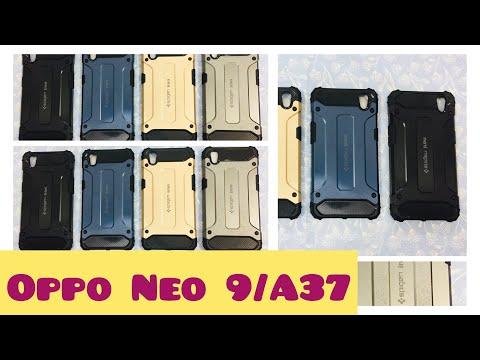 Phone Case Oppo Neo 9/A37 ~ Spigen Iron