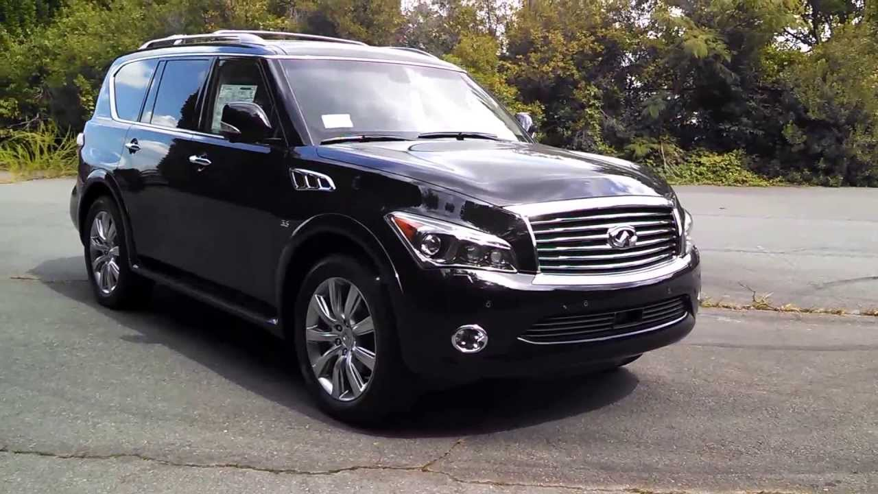 2014 infiniti qx80 suv modern infiniti of greensboro youtube vanachro Gallery