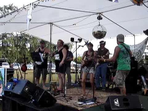 These Three -  The Happy Enchalata band and NoGrammy, Kilauea, Kauai
