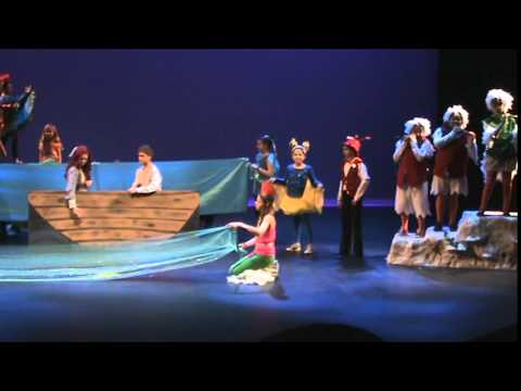 """""""Kiss the Girl"""" ICRC production of The Little Mermaid Jr. 2014"""