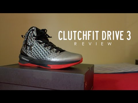 db2966ee726c Under Armour Clutchfit Drive 3 Review - YouTube