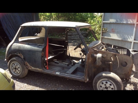 Classic Mini/Car Restoration Time Lapse