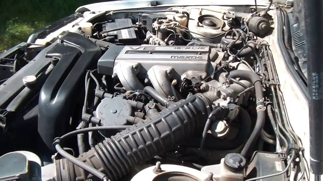 medium resolution of mazda 929 v6 youtube 1993 mazda 929 engine diagram