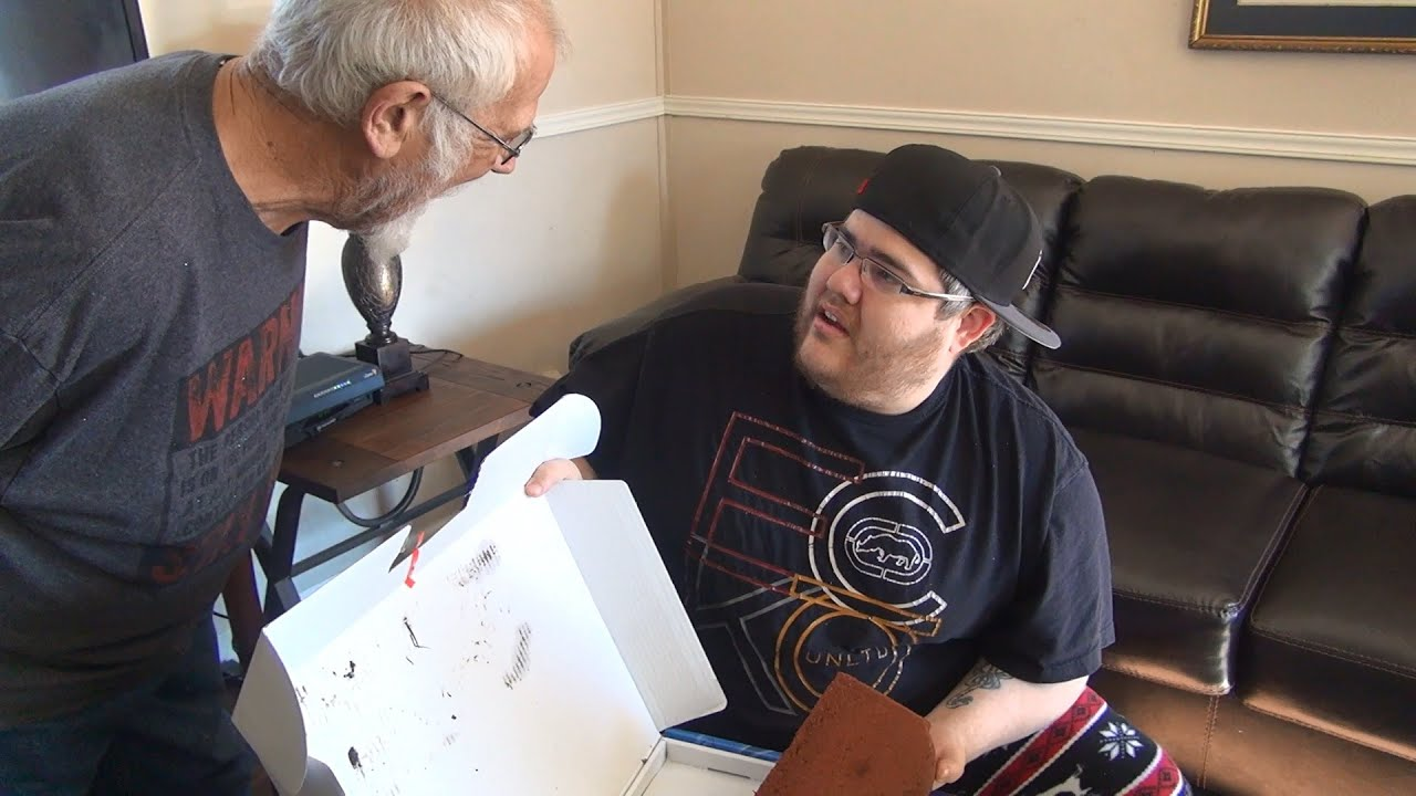 ANGRY GRANDPA RUINS CHRISTMAS! (PS4 PRANK) - YouTube