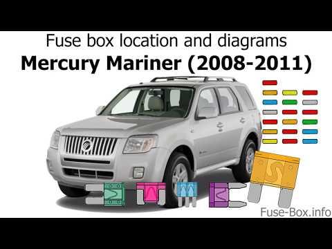 fuse box location and diagrams mercury mariner (2008 2011) youtubeMercury Mariner 2008 Fuse Diagram #18