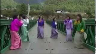 Bhutanese Song A la la ngi sem Music Video