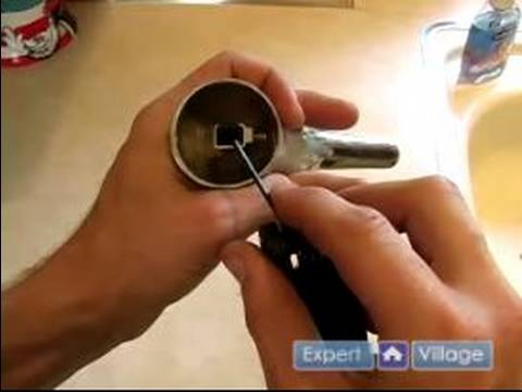 How to Fix a Faucet : How to Tighten a Kitchen Sink Handle - YouTube