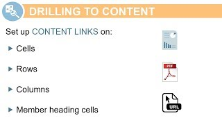 Drilling to Content in Management Report Grids video thumbnail