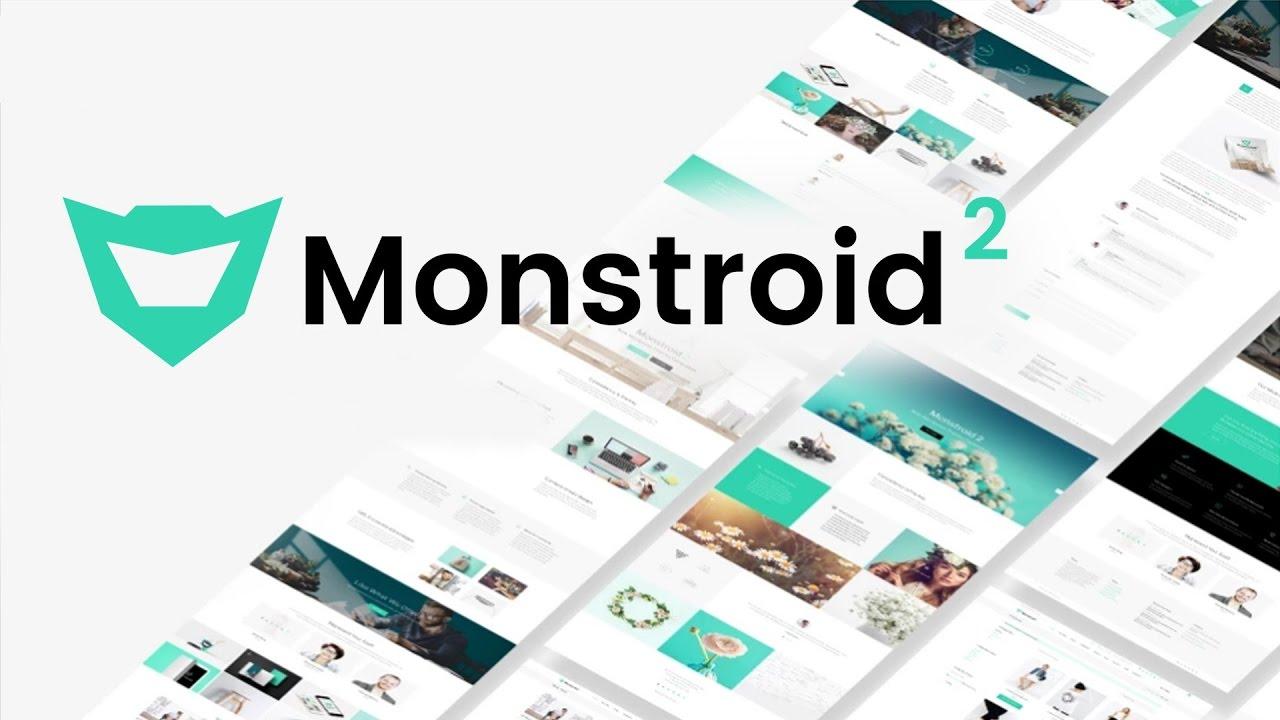 Monstroid2 - Multipurpose Modular Elementor