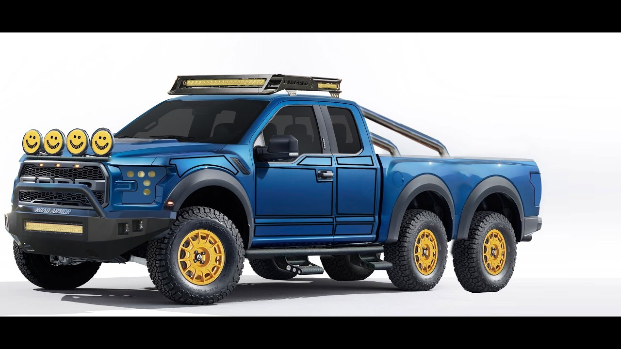 Ford F150 Shelby >> 6X6 ford F150 virtual tuning #8 - YouTube