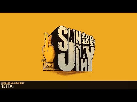 San Jimmy 2017 - CATEGORIA BIG - GIOVANNINO - TETTA