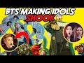 BTS MAKING IDOLS SHOOK IDOLS REACTION TO BTS