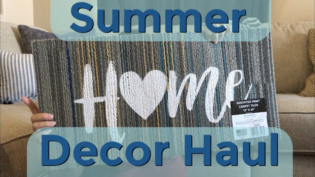 Budget Summer Home Haul // Coastal & Farmhouse Decor // Clearance ...