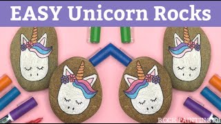 Unicorn Rocks ~ How to draw a unicorn