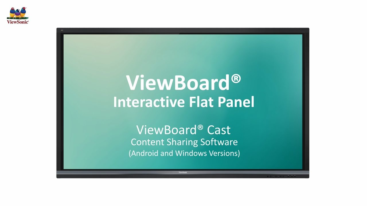 ViewSonic ViewBoard® Cast (Android and Windows Versions)