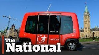 Self-driving cars have Canadian legislators struggling to keep up