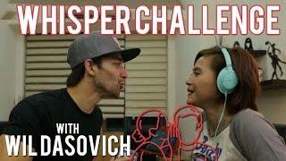 WHISPER CHALLENGE ft. Wil Dasovich | Joyce Pring TV