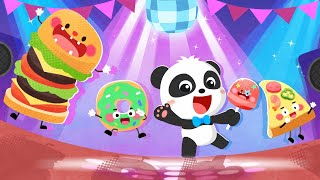 Baby Panda's Food Party Dress Up | Kids Kitchen | Pretend Play | Cooking Game | BabyBus